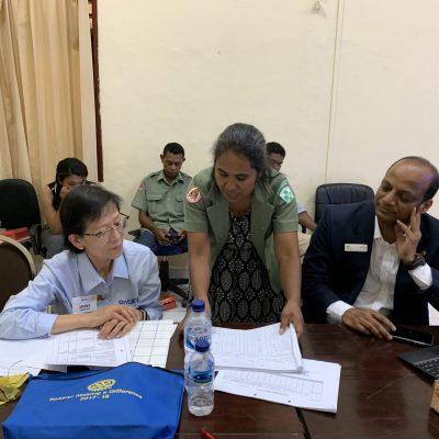 Meeting with Manager Maria Mota, National Malaria Program, Timor Leste