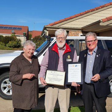 Milton Lewis and the RAWCS Humanitarian Award